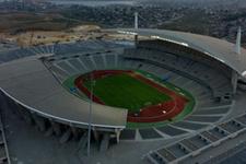 Astana Olimpiyat Stadı'nı kapattı