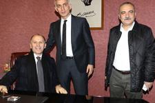 Trabzonspor'un başkan adayları sırayla koltuğa oturdu