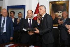 Trabzonspor'da devir teslim günü