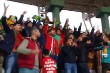 Şanlıurfa taraftarından Amedliler'i susturan slogan