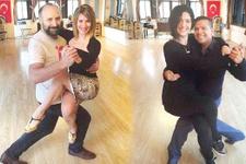 Bergüzar Korel ve Halit Ergenç tangoya merak sardı
