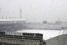 Beşiktaş Trabzonspor maçına kar yağışı engeli