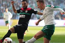 Bursaspor-Amed Sportif maçının özeti ve golleri