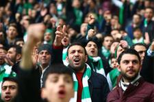 Bursasporlu taraftarlardan ruhsuzlar tepkisi!