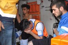Maçta çıkan kavgada 5 futbolcu yaralandı