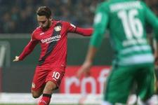 Hakan Çalhanoğlu'nun golü yetmedi