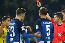 Almanya Emre Mor'un kırmızı kartını konuşuyor