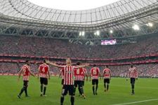 Bask derbisinde Athletic Bilbao güldü