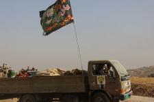 Musul savaşında Kürtlerin kriz çıkardığı bayrağa bakın!