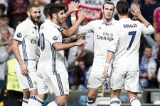 Real Madrid Varşova'ya gol yağdırdı