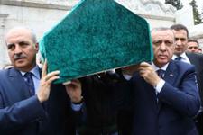 Cumhurbaşkanı Erdoğan da omuz verdi
