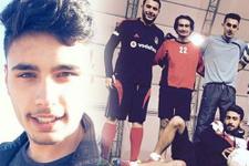 Futbol camiasını kahreden ölüm