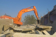 Bina atıkları hazır betona dönüştürülecek!