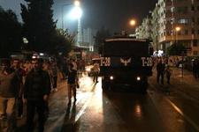 Adanaspor taraftarına TOMA'lı müdahale