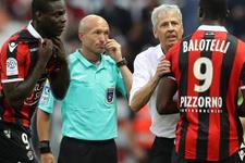 Balotelli önce harika bir gol attı sonra oyundan atıldı