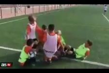 Neymar ve Suarezle fena dalga geçtiler!