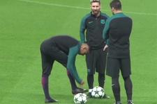 Suarez'den Neymar'ı kızdıran şaka