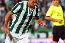 Bursasporlu futbolcu 3 hafta yok