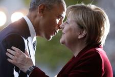 Obama'dan Merkel'e duygusal veda