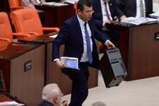 Meclis'teki o çalışan görevden uzaklaştırıldı