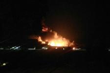 Yangın çıktı bölgedeki evler boşaltıldı!