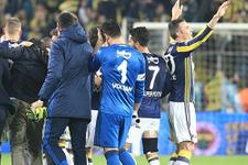 F.Bahçelilerden Galatasaray'a küfürlü tezahürat