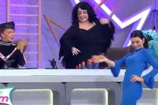 İşte Benim Stilim'de Nur Yerlitaş'tan oryantal şov