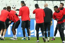 Benfica Vodafone Arena'da çalıştı
