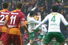 Galatasaray Bursaspor maçında penaltı tartışması