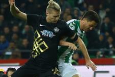 Osmanlıspor Atiker Konyaspor maçı sonucu ve özeti