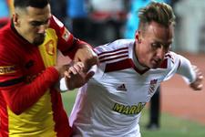 Sivas'taki maçı Göztepe kazandı