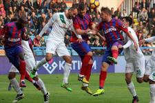 Kardemir Karabükspor - Bursaspor maçında kazanan yok