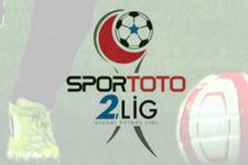 Spor Toto 2. Lig'de haftanın programı