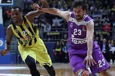 Fenerbahçe İspanyol devi Real Madrid'i devirdi