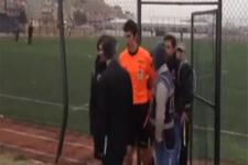 FETÖ'den aranan hakem maç sırasında yakalandı!