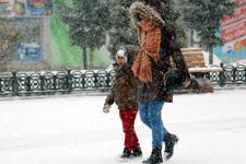 Ankara hava durumu kar yağışı için saat verildi dikkat!