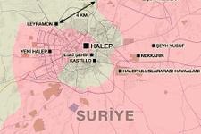 Halep haritası son durum geriye bu kadar yer kaldı!