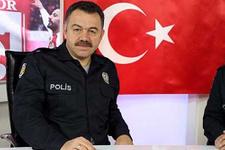 Polis üniformasıyla program sundular