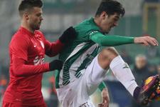 Bursaspor Antalyaspor maçı sonucu ve özeti