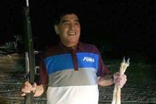 Ne yaptın Maradona! Bu fotoğrafı olay oldu