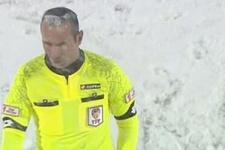 Gaziantepspor Kırklarelispor maçında ilginç olay