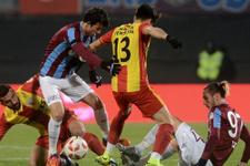 Trabzonspor Kızılcabölükspor maçı fotoğrafları