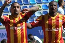 Kayserispor 3 puanı 3 golle aldı!