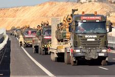 Suriye sınırına büyük askeri sevkiyat!