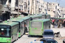 Halep'ten çıkan savaşçılar El Bab'a gidiyor!