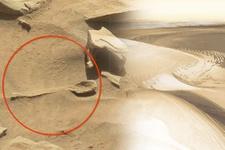 Mars'ta büyük bir kaşık bulundu haberi yanlış çıktı