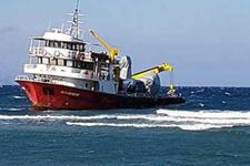 Arıza nedeni ile sürüklenen Türk gemisi karaya oturdu!