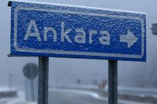 Meteoroloji uyardı Ankara'da kar başladı