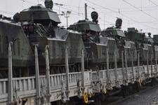 TSK'dan sınıra zırhlı askeri araç sevkiyatı