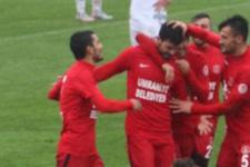 Ümraniyespor galibiyet serisini 3 maça çıkardı